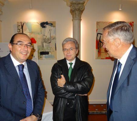 Carlos Ávila, Juan Agustín Alberro y Carsten Moser