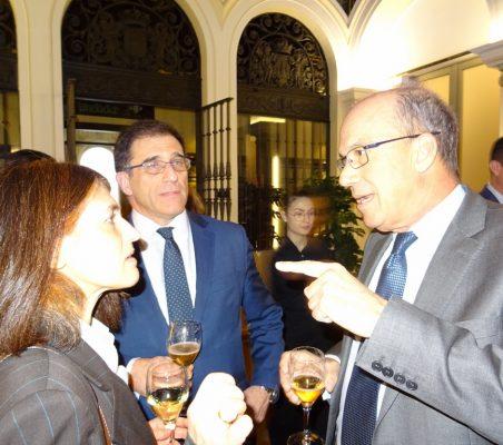 Gloria Mínguez, Jaime Montalvo, José Eugenio Salarich