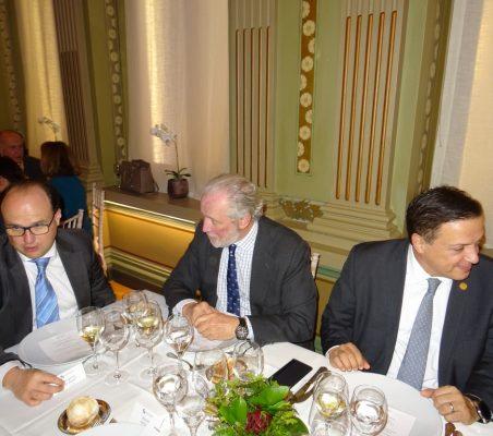 Juan Ignacio Díaz Bidart, José Luis López-Schümmer y Luis Alegre