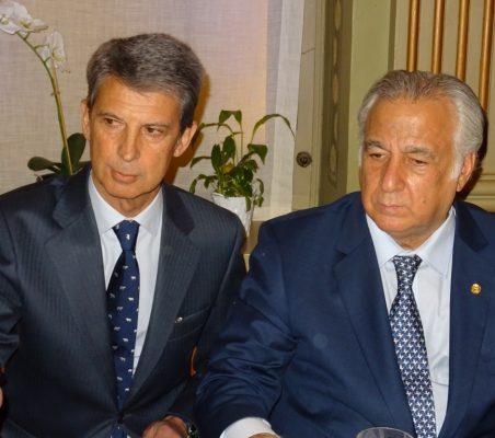 José Ignacio Salafranca y Miguel Torruco