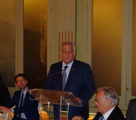 Intervención de Miguel Torruco, Secretario de Turismo de México