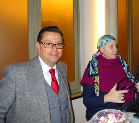 Enrique Vargas y María Andrea Albán