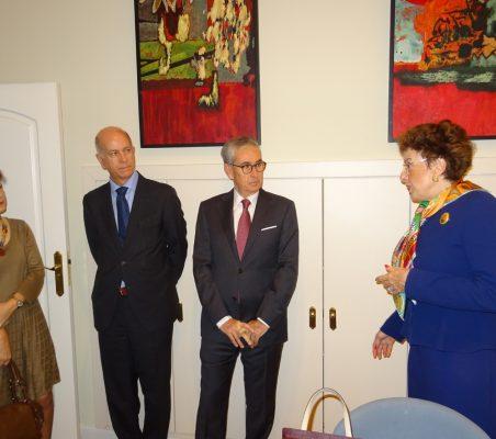 Cecilia Yuste, José María Torroja, Ramón Jáuregui y Roberta Lajous