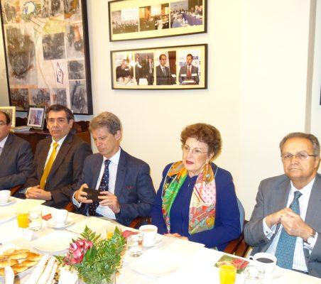 Carlos Ávila, José Humberto Solorza, José Ignacio Salafranca, Roberta Lajous y Juan Pablo de Laiglesia