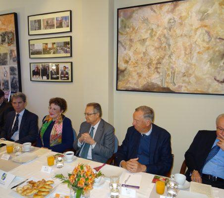 José Humberto Solorza, José Ignacio Salafranca, Roberta Lajous, Juan Pablo de Laiglesia, Carsten Moser y Almerino Furlan