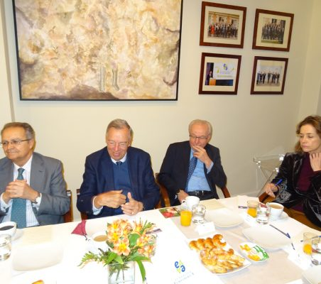 Juan Pablo de Laiglesia, Carsten Moser, Almerino Furlan y Patricia Alfayate