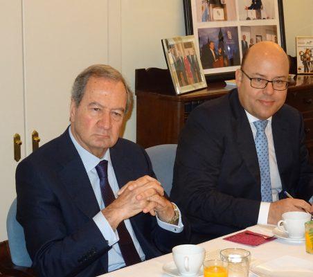 Ángel Galán y Víctor Baz