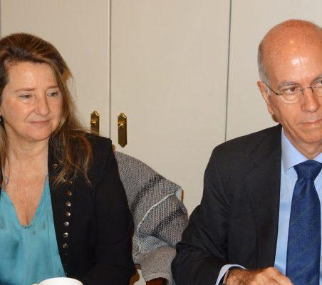 Celia Roldán y José María Torroja