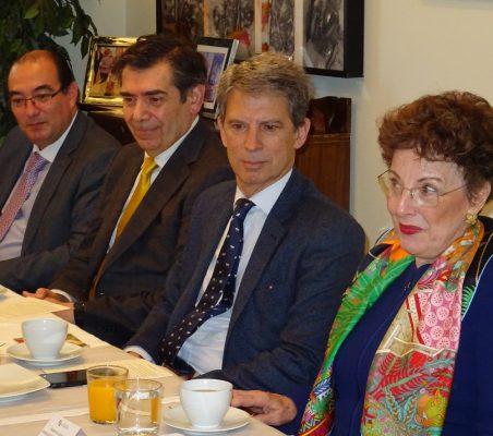 Carlos Ávila, José Humberto Solorza, José Ignacio Salafranca y Roberta Lajous
