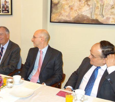 Carsten Moser, Fernando González y Carlos Álvarez