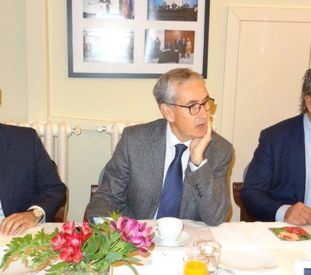 Rodrigo Teixeira, Ramón Jáuregui y Luis Fernando Álvarez-Gascón