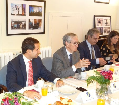 Rodrigo Teixeira, Ramón Jáuregui, Luis Fernando Álvarez-Gascón y Ana Blanco