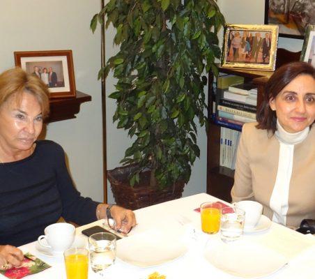 Luisa Peña y Ana Valero