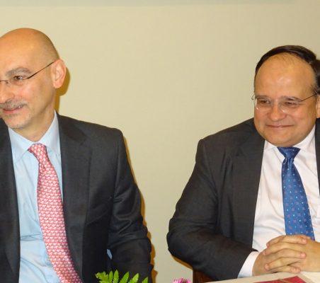 Fernando González y Carlos Álvarez
