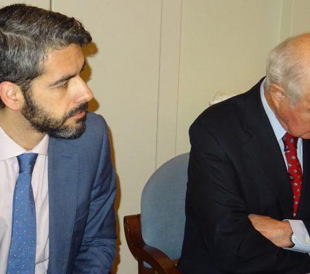 Bruno Calvo y Emilio Gilolmo