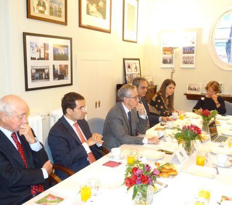 Emilio Gilolmo, Rodrigo Teixeira, Ramón Jáuregui, Luis Fernando Álvarez-Gascón, Ana Blanco y Luisa Peña