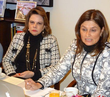 Ana Helena Chacón y Maryleana Méndez