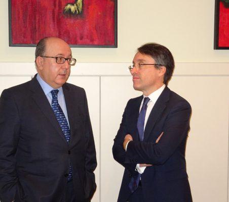 José María Roldán y Héctor Flórez
