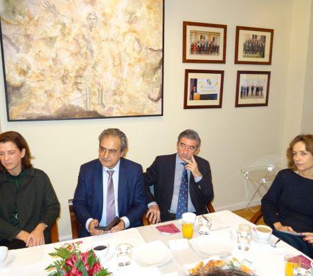 Alejandra Kindelán, Luis Fernando Álvarez-Gascón, Enrique Enríquez y Patricia Alfayate