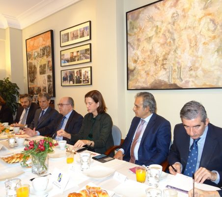 Encarnación Pérez, Rafael Duarte, José Ignacio Salafranca, José María Roldán, Alejandra Kindelán, Luis Fernando Álvarez-Gascón