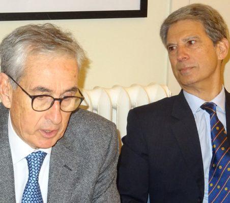 Ramón Jáuregui y José Ignacio Salafranca
