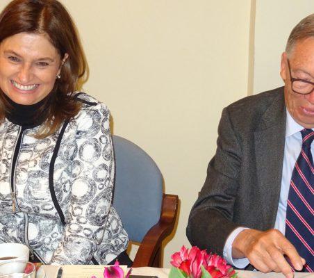 Maryleana Méndez y Carsten Moser