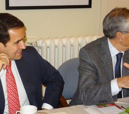 Rodrigo Teixeira y Ramón Jáuregui