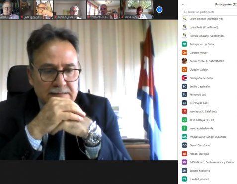Gustavo Machín, Embajador de Cuba en España