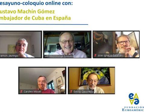 Presidente y Vicepresidentes de la Fundación Euroamérica