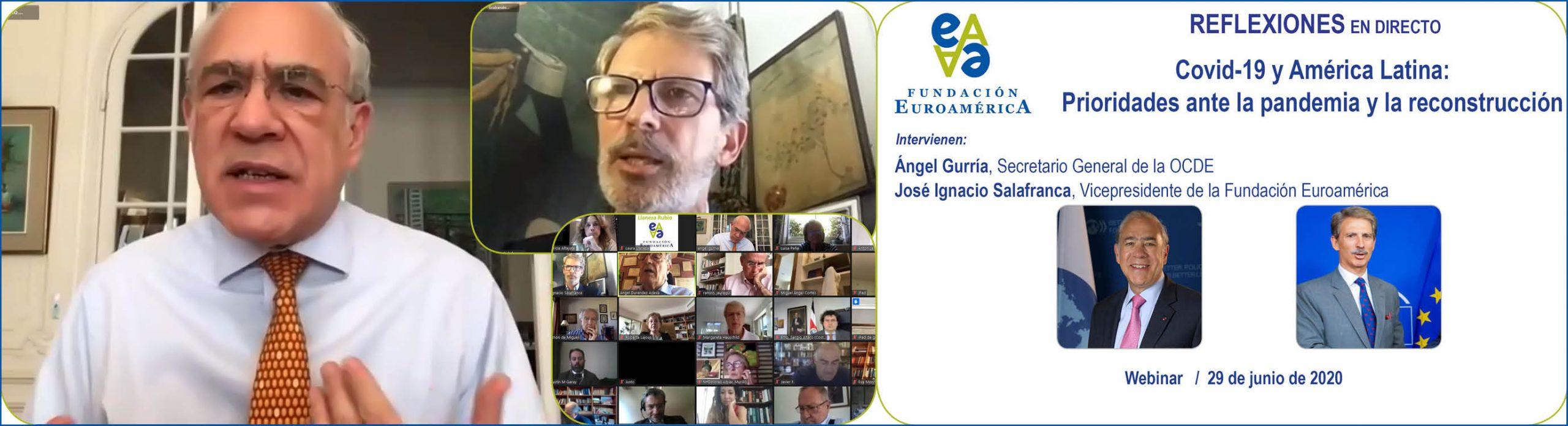Coloquio online, con Ángel Gurría / OCDE