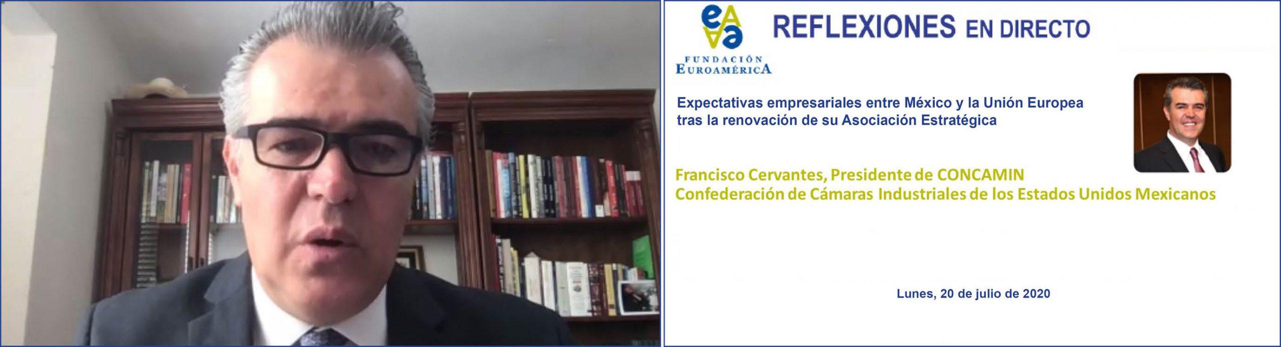 Coloquio online, con Presidente de CONCAMIN