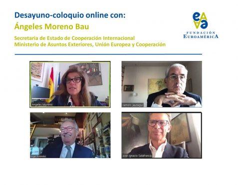 Ángeles Moreno, Ramón Jáuregui, Ángel Durández, José Ignacio Salafranca