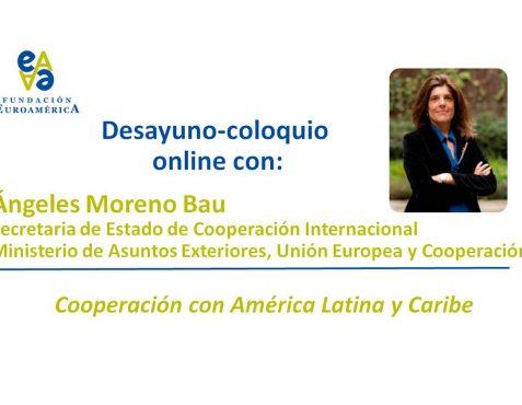 Secretaria Ángeles Moreno Bau