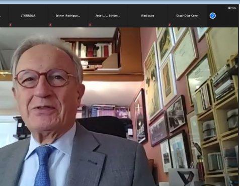 Ángel Durández Vicepresidente Ejecutivo de la Fundación Euroamérica