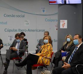 Carlos San Basilio, Cristina Gallach y Luis Carranza
