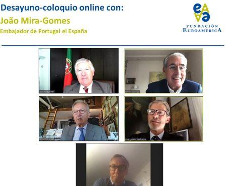 Embajador del Portugal, Ramón Jáuregui, Ángel Durández José Ignacio Salafranca y Carsten Moser