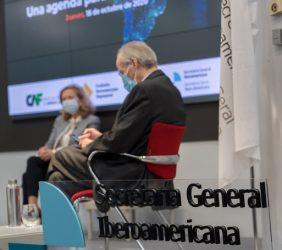 Josep Piqué y Nadia Calviño