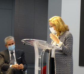 Ramón Jáuregui y Nadia Calviño