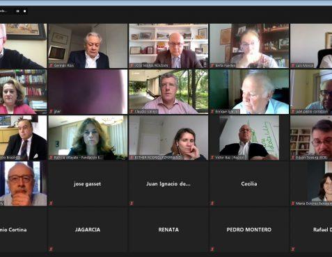 Participantes en el coloquio 2