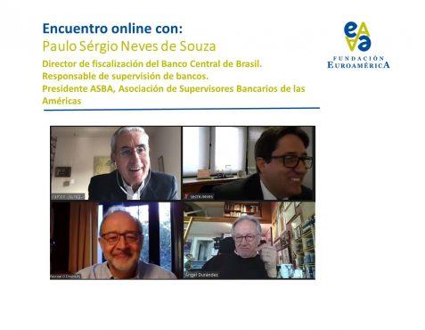 Ramón Jáuregui, Paulo Sérgio Neves, Pascual O'Dpgherty y Ángel Durández