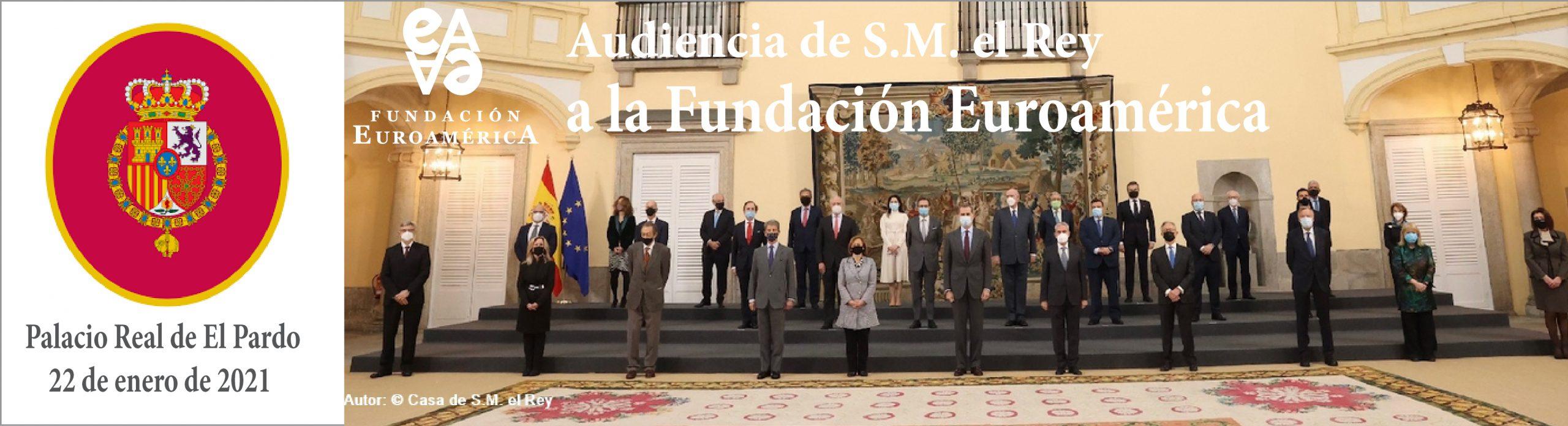 Audiencia de S.M. el Rey a la F. Euroamérica