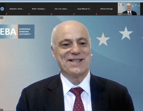 José Manuel Campa, Presidente de la Autoridad Bancaria Europea