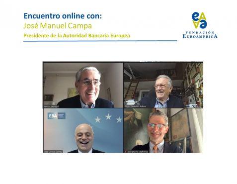 Ramón Jáuregui, Ángel Durández, José Manuel Campa y José Ignacio Salafranca