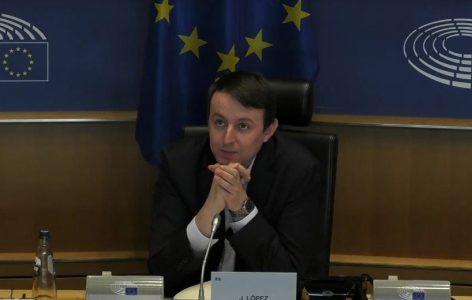 Javier López, Presidente de la Delegación de la Asamblea Parlamentaria Euro-Latinoamericana