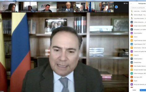 Luis Guillermo Plata Embajador de Colombia en España