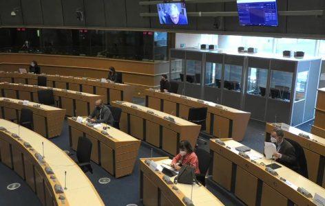 Presentación del Informe en en el marco de la reunión de la Asamblea parlamentaria EuroLat