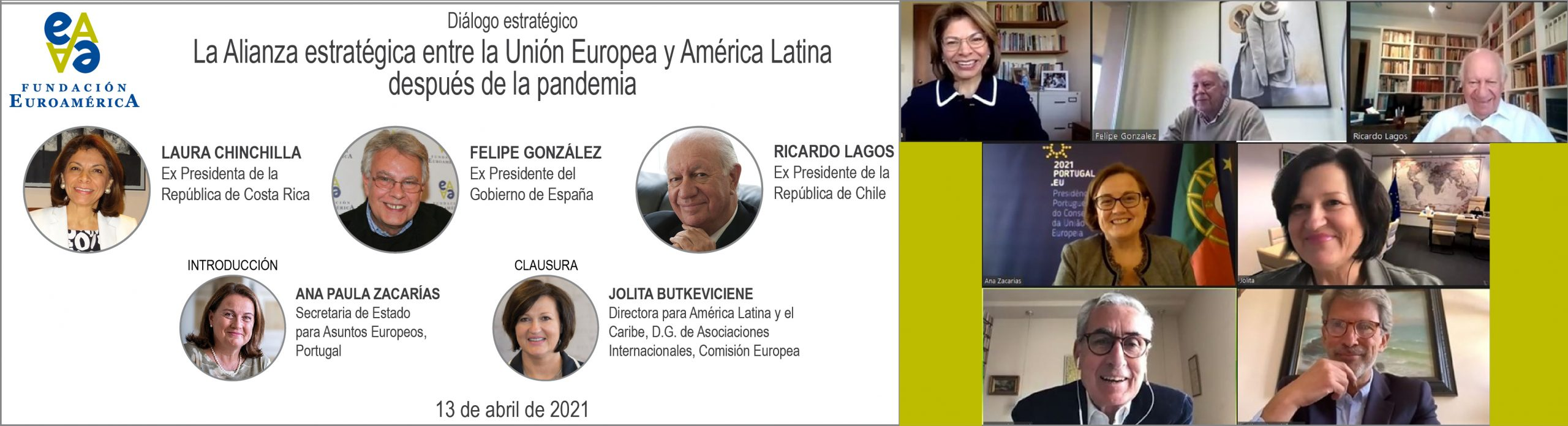 Diálogo estratégico: Chinchilla,González,Lagos