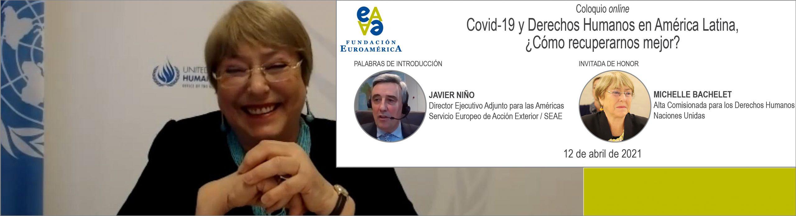 Online / Michelle Bachelet, Alta Comisionada