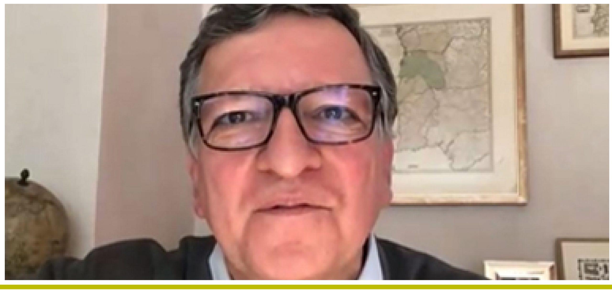 Coloquio online con José Manuel Barroso.