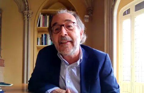 Carlos López Blanco, interviene en el coloquio